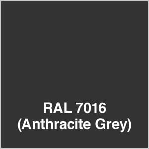 anthracite grey standard frame 2000 series shelter color option
