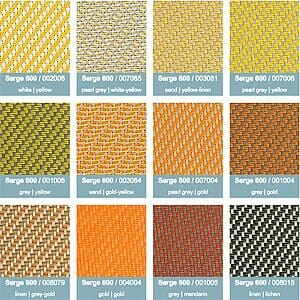 serge screen colors 3 1500 series shelter color option