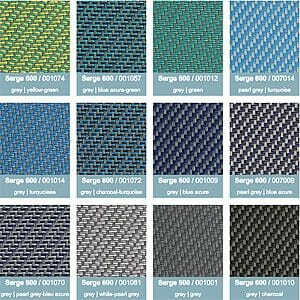 serge screen colors 4 2000 series shelter color option