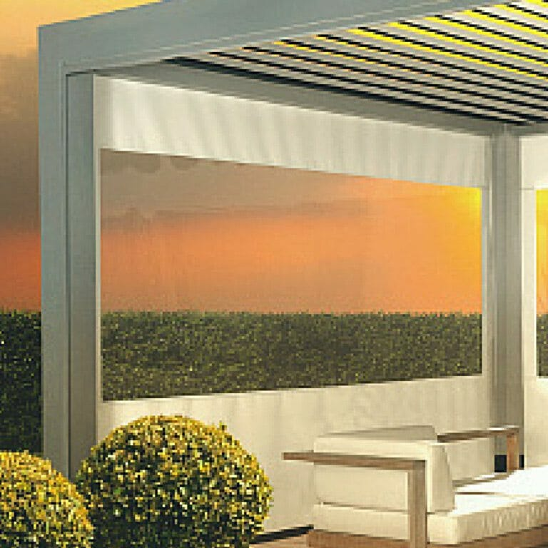 serge screen with cristal window optional feature for 2000 series shelter