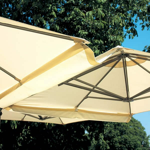 P6 Square Duo Umbrella Gutter System