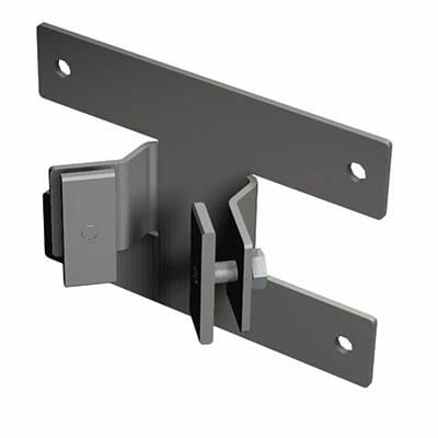 P6 Square Duo Umbrella Wall Mounting Bracket