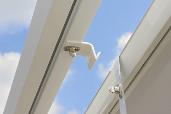 Retractable Roof Poolside Cabana roof hardware