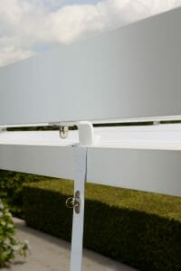 Retractable Roof Poolside Cabana Hardware