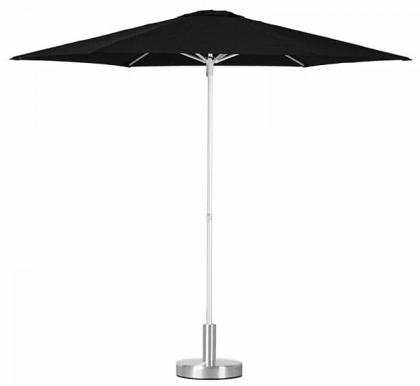 P50 Umbrella with black shade with one move gas spring